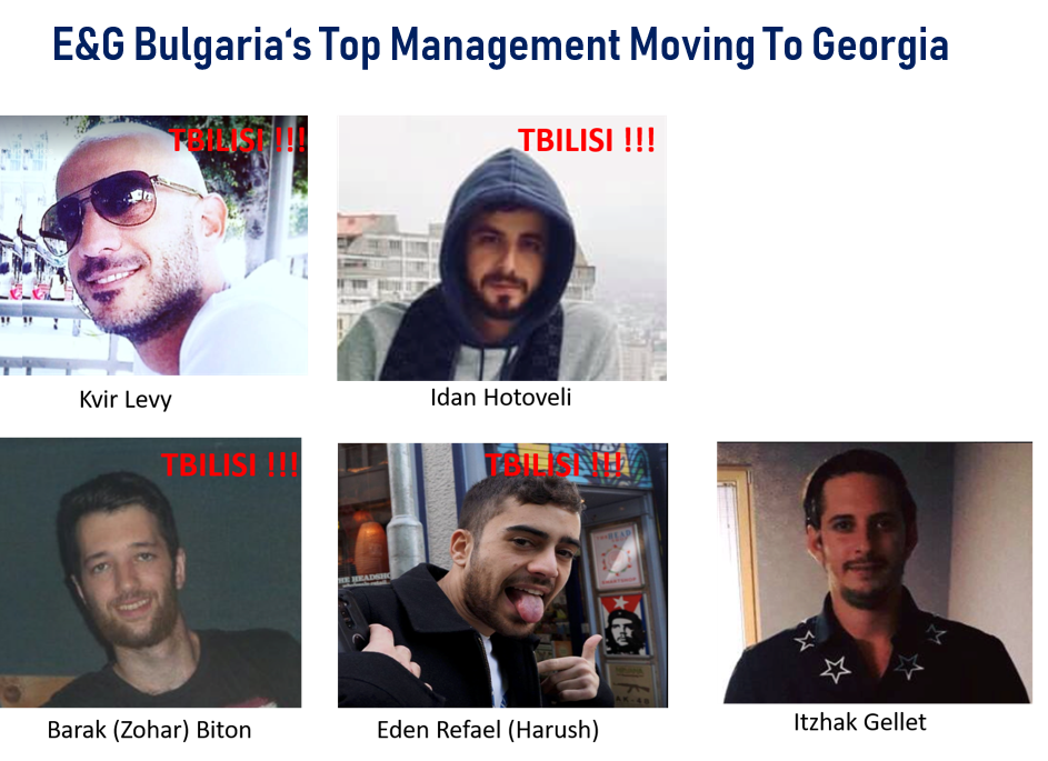 E&G Bulgaria Top Management