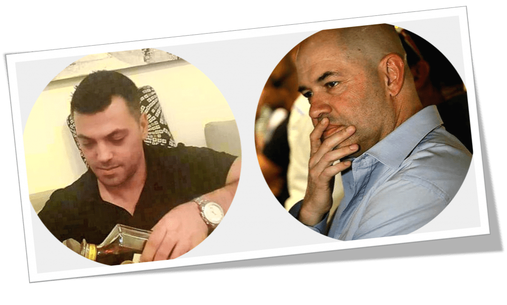 Kobi Cohen and Yossi Herzog are most wanted men