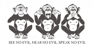 Three Wise Monkeys Strategy for Fintech Startups
