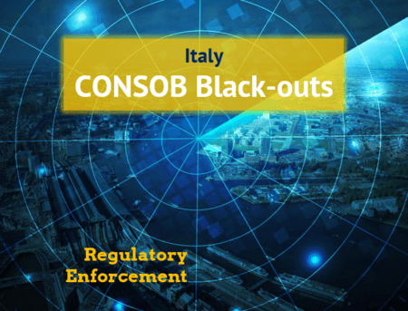 Consob orders blackout for five more websites